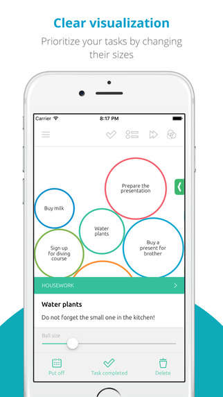 Visual Productivity Apps - 'To Round' is a Task Manager App That Playfully Organizes Priorities