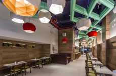 Upscale Modular Burger Bars - The New York City Uncle Sam's Burgers Opts for a Sophisticated Look