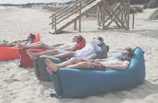 Compact Inflatable Loungers
