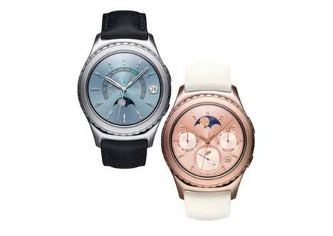 10 Examples of Feminine Smartwatches - From Elegant Gilded Smartwatches to Rose Gold Wearable Tech