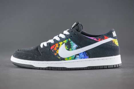 Co-Branded Tie-Dye Kicks - The Newest Nike SB Dunk Low Pro Was Designed by Ishod Wair