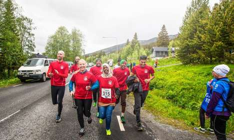 Refugee Run Clubs - The 'Hej Främling!' Run Club Helps Refugees in Sweden Connect