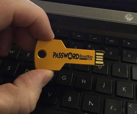 Password-Resetting Keys - This Password Recovery Tool Helps When Credentials are Forgotten
