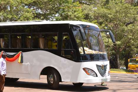 Solar-Powered Buses