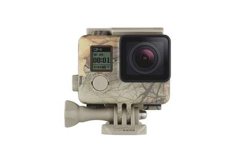 Camouflage Action Camera Cases - Keep Your GoPro Hidden During Hunting with the Realtree Case