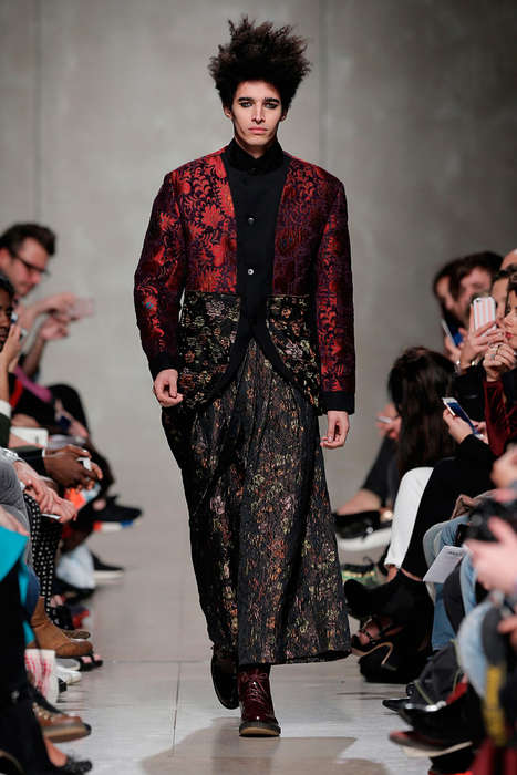 Tapestry-Topped Menswear