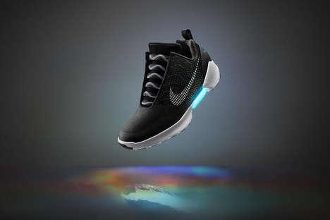 Futuristic Self-Lacing Sneakers