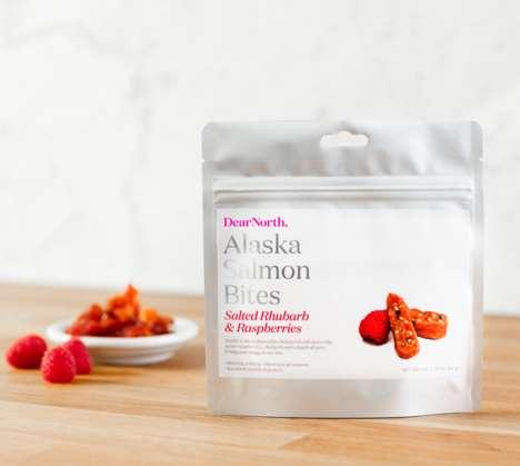 Flavored Salmon Snacks