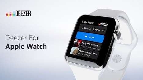 Syncing Smartwatch Music Apps