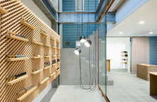 Precise Knife Shop Interiors - This Tadafusa Store in Japan Boasts a Custom-Built Shelving System