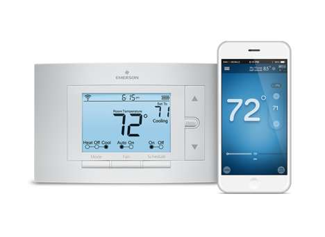 App-Connected Thermostats - Emerson's Sensi is Controlled Via a Thermostat App