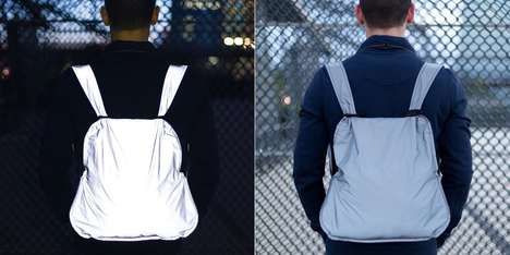 Bicyclist Safety Backpacks