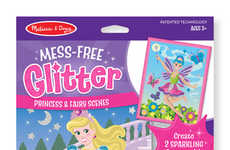 Anti-Mess Glitter Toys - The Melissa & Doug Mess-Free Glitter Foam Stickers Require Zero Cleanup