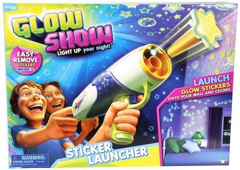 Sticker-Shooting Toys