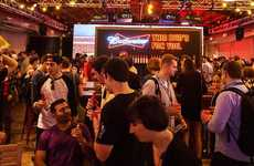 Experiential Beer Lounges - The Budweiser Beer Garage is the Latest SXSW 2016 Activation from A-B