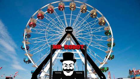 Television-Inspired Carnival Stunts