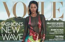 Poolside Songstress Editorials - Rihanna Poses as a Singer and a Buisness Mogul for Vogue Magazine