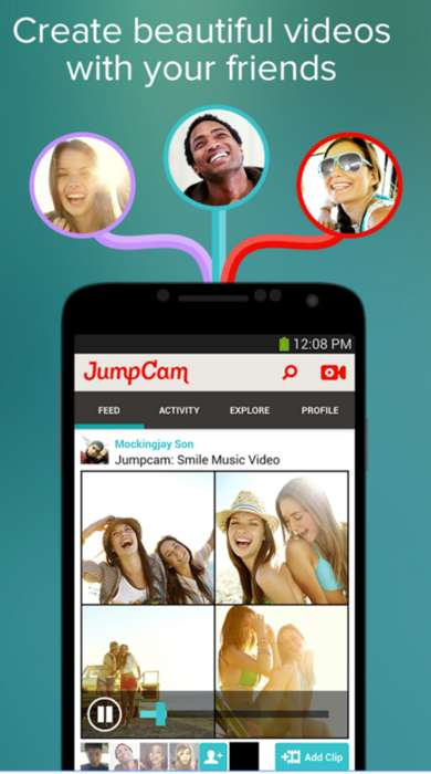 Collaborative Video-Editing Tools - The 'JumpCam' App Allows Users to Collaborate on Videos