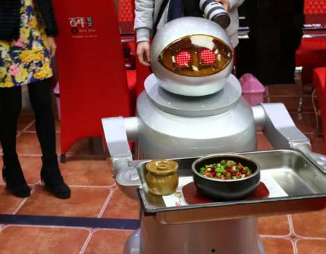 Robotic Fast Food Servers