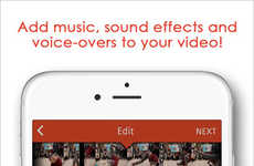 User-Friendly Video Editors - The 'Videoshop' App Makes It Easy to Edit Digital Videos