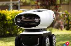Pizza-Delivering Robots