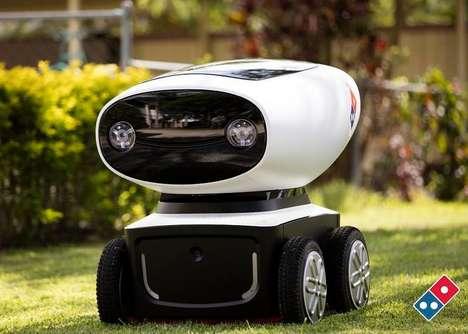 Pizza-Delivering Robots