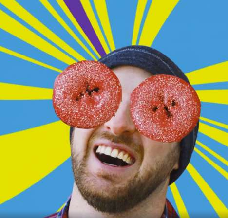 Slushie-Flavored Donuts