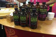 Probiotic Kimchi Beverages - Wildbrine's Newest Probiotic Product is a Collection of 'Kimchi Shots'