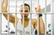 Themed Prison Gyms - The ConBody Workout Facility is Inspired by the Aesthetic of a Jail
