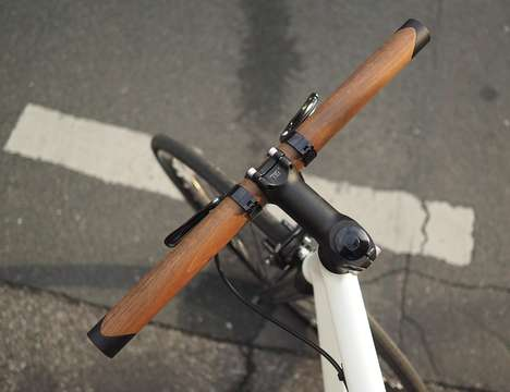 Luxurious Wooden Handlebars
