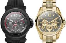 Fashion Designer Smartwatches - The Michael Kors Android Smartwatches Blend Fashion and Function