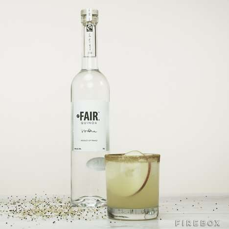 Fair Trade Superfood Vodkas - The 'Fair' Quinoa Vodka Alcohol Brand is Committed to Fair Trade