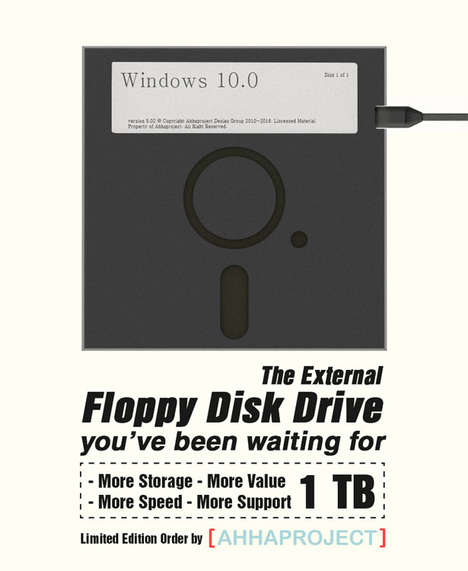Floppy Disk Hard Drives