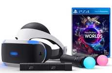 VR Video Game Bundles - The PlayStation VR Headset Bundle Offers Gamers Everything to Get Started