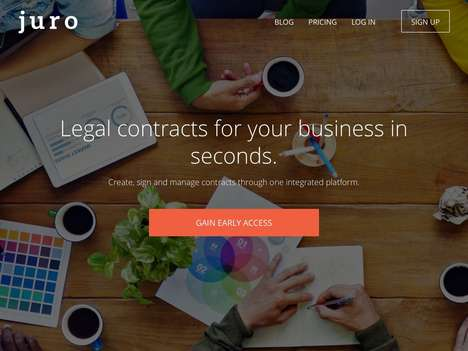 Legal Contract-Creating Platforms