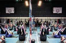 Athletic Collection Workout Launches - H&M Poland Held an Immersive Fitness Event in Warsaw