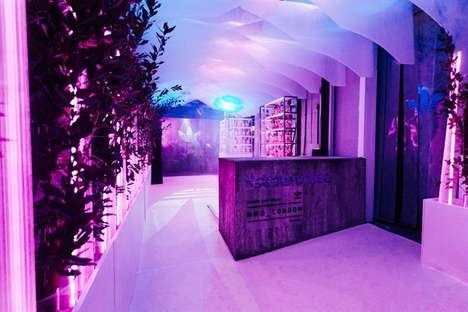 Athletic Label Music Venues - The adidas Future House Has Popped Up in London's Shoreditch