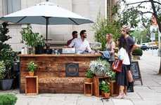 Designer Retail Farmers Markets - The Club Monaco Farmers Market Previously Popped Up in Toronto