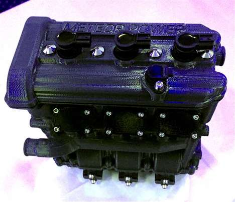3D-Printed Motorcycle Engines