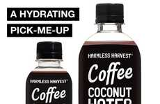 Caffeinated Coconut Water - Harmless Harvest's Coffee Water is Equivalent to Half an Espresso Shot