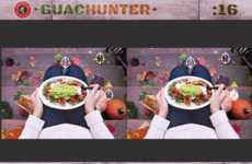 Promotional Guacamole Games - Free Guacamole is a Prize for Chipotle's Spot-the-Difference Game