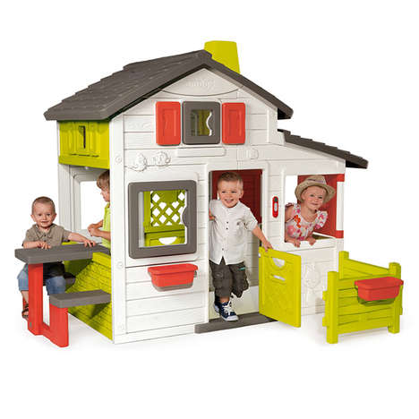 Gender-Neutral Playhouses - Smoby's 'Friends House' Includes Boys in Home-Centered Imaginary Play