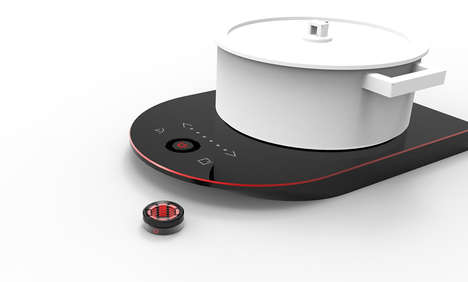 Remote Control Cooking Rings