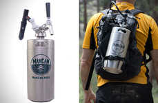 Portable Backpack Kegs