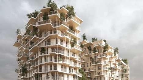 Towering Timber Buildings