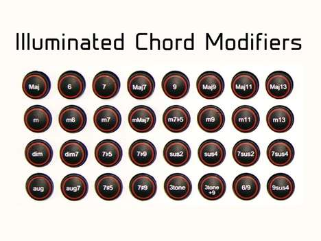 Chord-Generating MIDI Keyboards