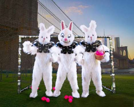Extreme Easter Egg Hunts - The Full Bunny Contact Game Challenges Players to Find Prize-Winning Eggs