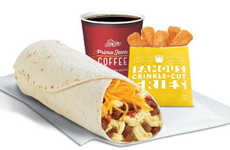 Piquant Breakfast Burritos - The Del Taco Morning Menu Now Includes Mexican Chorizo Sausage