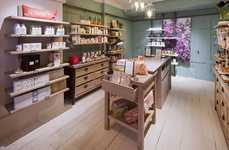 Sensorial Retail Experiences - The Crabtree & Evelyn London Flagship Features a Fragrance Garden
