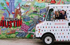 Mobile Ice Cream Shops - This Cobranded Food Truck Treated SXSW Atendees to Vegan Fruit Pops